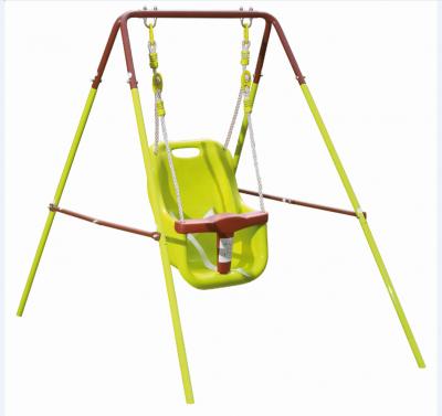 Altalena  giochi per bambini 1 posto in metallo  BABY 150x95x120cm dondolo da giardino bimbi