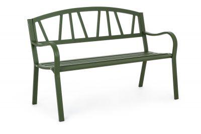 Panca da esterno design Janelle  forest 123cm per arredamento giardino