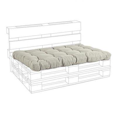 Cuscino SEDUTA per divano in pallet Beige arredamento design Bizzotto pedane di legno cuscini bancale
