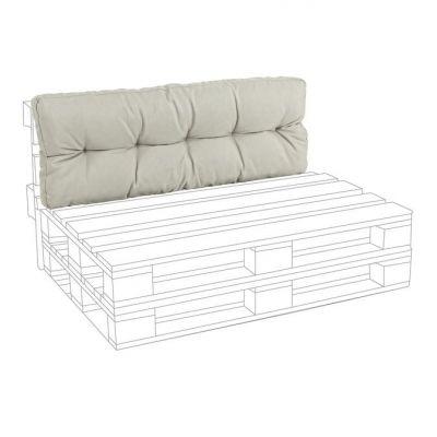 Cuscino SCHIENALE per divano in pallet Beige arredamento design Bizzotto pedane di legno cuscini per bancale