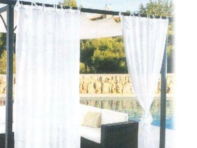 Tenda Velo Gazebo Bianca 150 X 280 CM