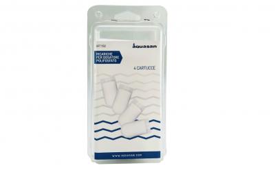 Aquasan-Cartuccia Ricambio Per Dosatore 4pz
