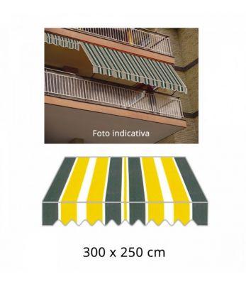 Tenda da sole a caduta 300x250cm tessuto P3002