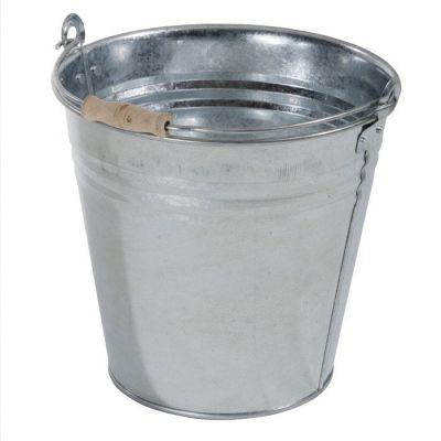 Secchio zincato H. 29 diametro 30 litri 10