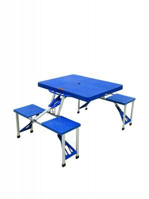 Tavolo e sedie richiudibili a valigetta Con 4 sedie facilmente trasportabile