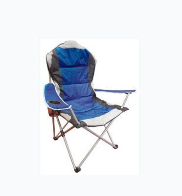 Sedia pieghevole Camping  da campeggio poltrona sdraio pic nic trasportabile da giardino sgabello Blu