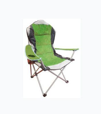 Sedia Camping pieghevole da campeggio poltrona sdraio picnic trasportabile da giardino sgabello Verde