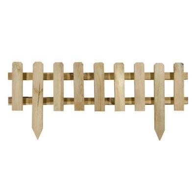 Bordura recinzione in pino impregnato 75x32/20 cm