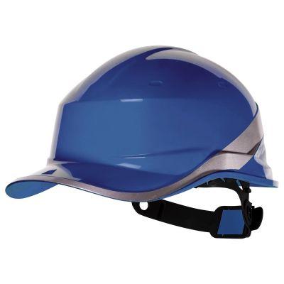 Casco antinfortunistico da lavoro cantiere Delta Plus blu elmetto sicurezza