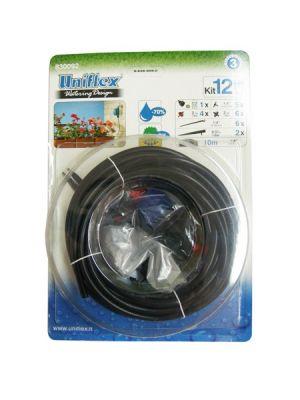 Kit irrigazione 12 vasi blist.conf. uniflex