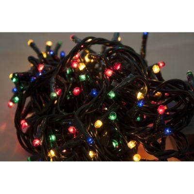 Mini luci Natalizie Multicolor Catena con 180 Luci di Natale con giochi 13 m