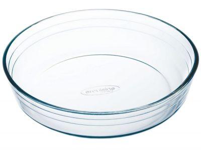 Pirofila in vetro temperato pyrex arcuisine rotonda da cm. 22 tortiera