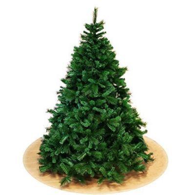 Albero di Natale Monte Rosa lusso abete verde 210 cm rami a stella molto folto