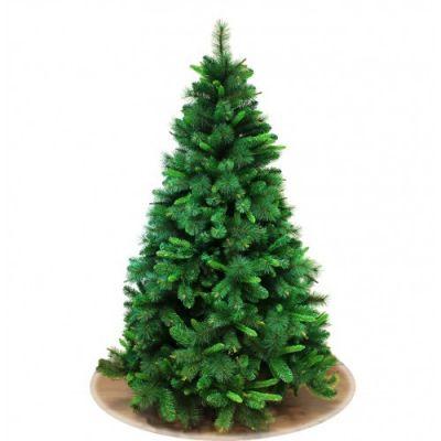 Albero di Natale abete verde Kentucky 180 cm folto effetto realistico