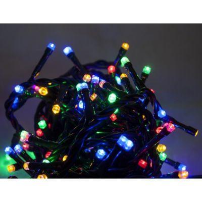 Catena Luminosa con Giochi di Luce 180 LED Multicolor per interno 9m