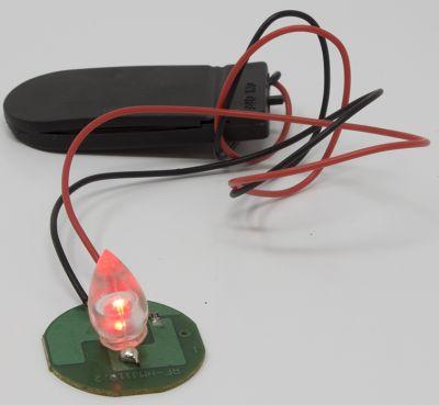 lampada fuoco a batteria pile incluse