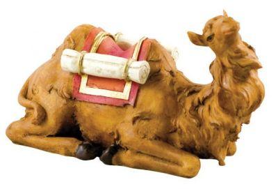 CAMMELLO SEDUTO ANIMALI PER PRESEPE 18 cm