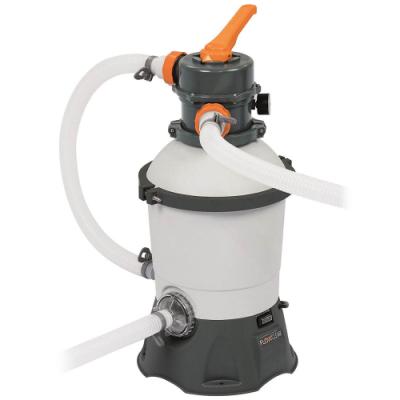Bestway Pompa Filtro a Sabbia Flowclear 58515 Portata 3028 L/H per piscine 6p