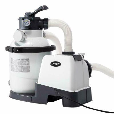 Intex 26644 pompa a sabbia filtro per piscina portata 4.500 Lt/h