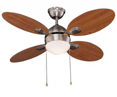 Ventilatore Da Soffitto Agitatore Aria 4 Pale 65 Watt Vinco 70921