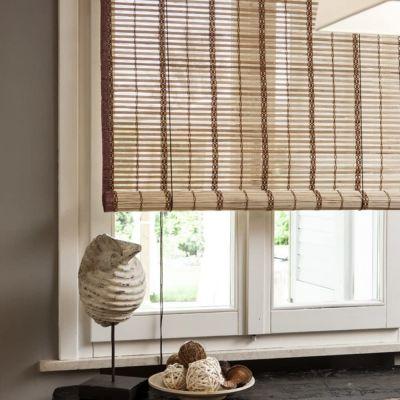 VERDELOOK Tapparella in Listelli di bambù da 20 mm Circa 200x300 cm bambù Naturale CILIEGIO