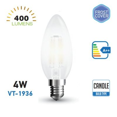 LED BULBS 4W VT-1936 6400K WHITE