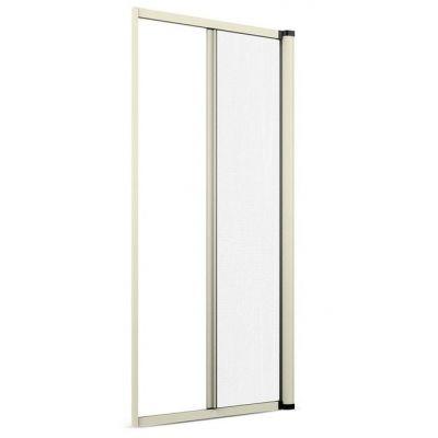 Zanzariera a rullo per porta finestra laterale 140x250 alluminio riducibile bnc