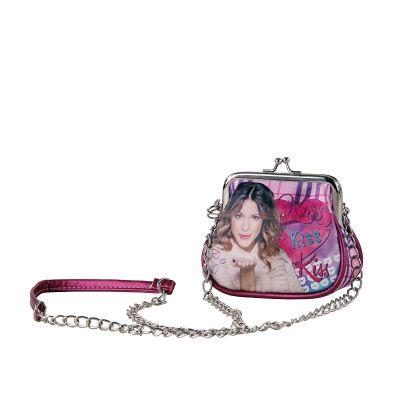 Violetta tracollina Moda Retro Kiss Tartan