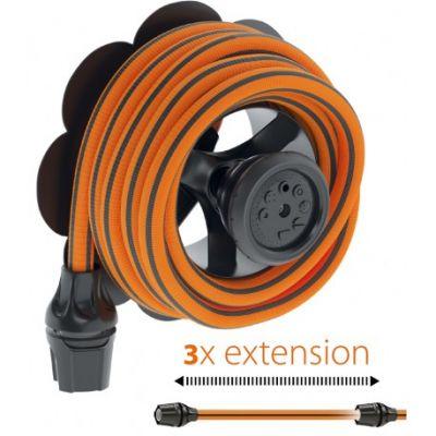 Claber tubo irrigazione giardino estensibile/allungabile fino a 25mt kit springy
