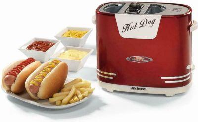 Macchina per Hot Dog 650 Watt griglia elettrica macchina per panini