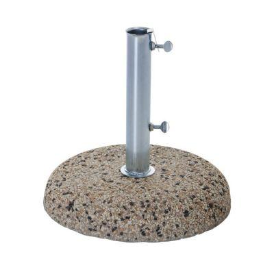 Base in cemento Porta Ombrellone da giardino 25 kg ghisa Verdelook