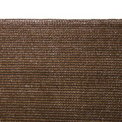Rotolo Rete ombreggiante ombra full 95% schermante tessuto Marrone 2x5m