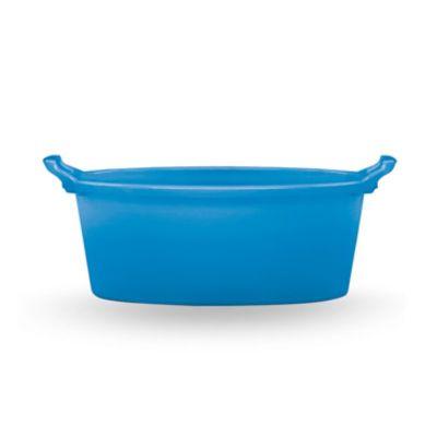 Bacinella in polietilene ovale contenitore in plastica 60 cm