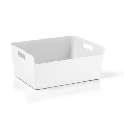 Contenitore in plastica cassettina 16 cm grigio