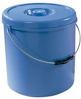 Pattumiera bidone per raccolta differenziata blu -20 LT