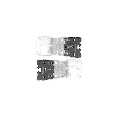 Swish-Home 2 supporti laterali con piastre 15-18 BL
