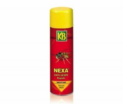 Insetticida KB anti vespe rapido spray Nexa getto abbattente 600ml