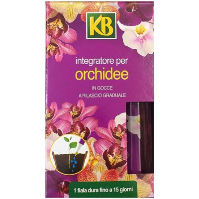 Integratore concime per Orchidee in Gocce a rilascio graduale KB 6x35ml