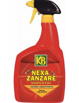 Antiparassitario insetticida ZANZARE kb Nexa pronto all'uso spray 750ml