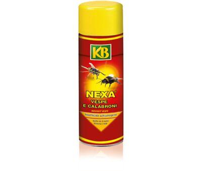 Insetticida KB anti vespe e calabroni spray Nexa schiumogeno 750ml
