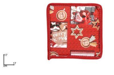presina Natalizia rossa decorazioni per la cucina