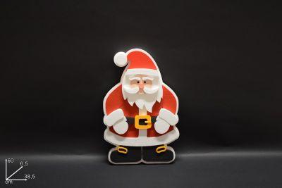 Babbo Natale In Polistirolo H60cm