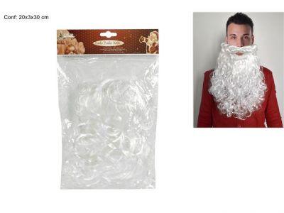 Barba bianca di Babbo Natale 30CM