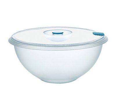 Coppa con Coperchio Plastica Trasparente contenitore plastica per alimenti