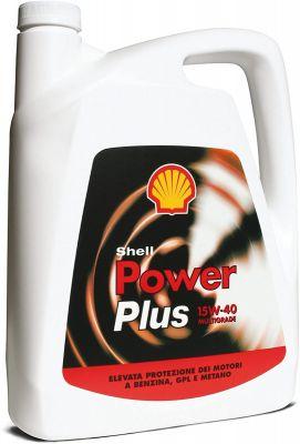 Olio Shell Power Plus 15w40 4L Lubrificante per auto cura e manutenzione