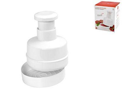 Pressa hamburger in plastica utensili da cucina