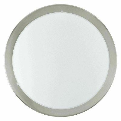 EGLO 88096 - PLAFONIERA / APPLIQUE ORBIT 1 1xGR8/16W  BIANCO E CROMO