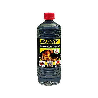 Accendifuoco liquido in formato da 1 lt per stufe camini e barbecue