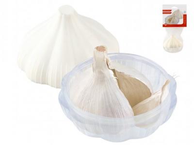 Contenitore in plastica per aglio
