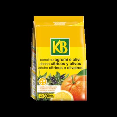 CONCIME PER AGRUMI E OLIVI organo-minerali KB 800gr